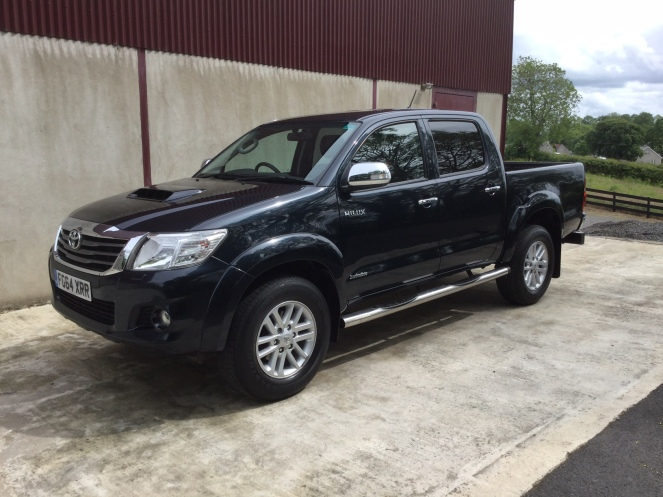 SOLD* 2014 Toyota Hilux  
